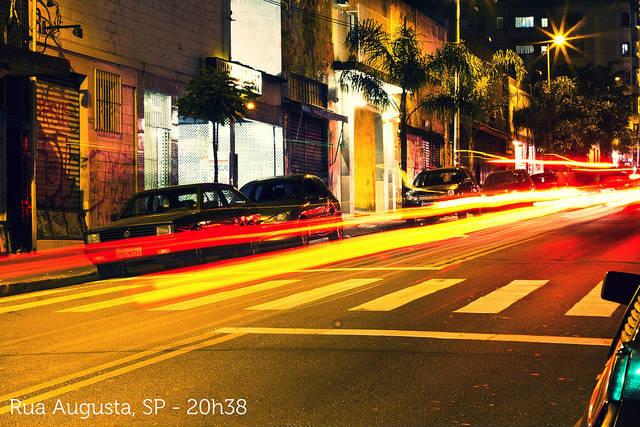 Rua Augusta por Douglas Pimentel